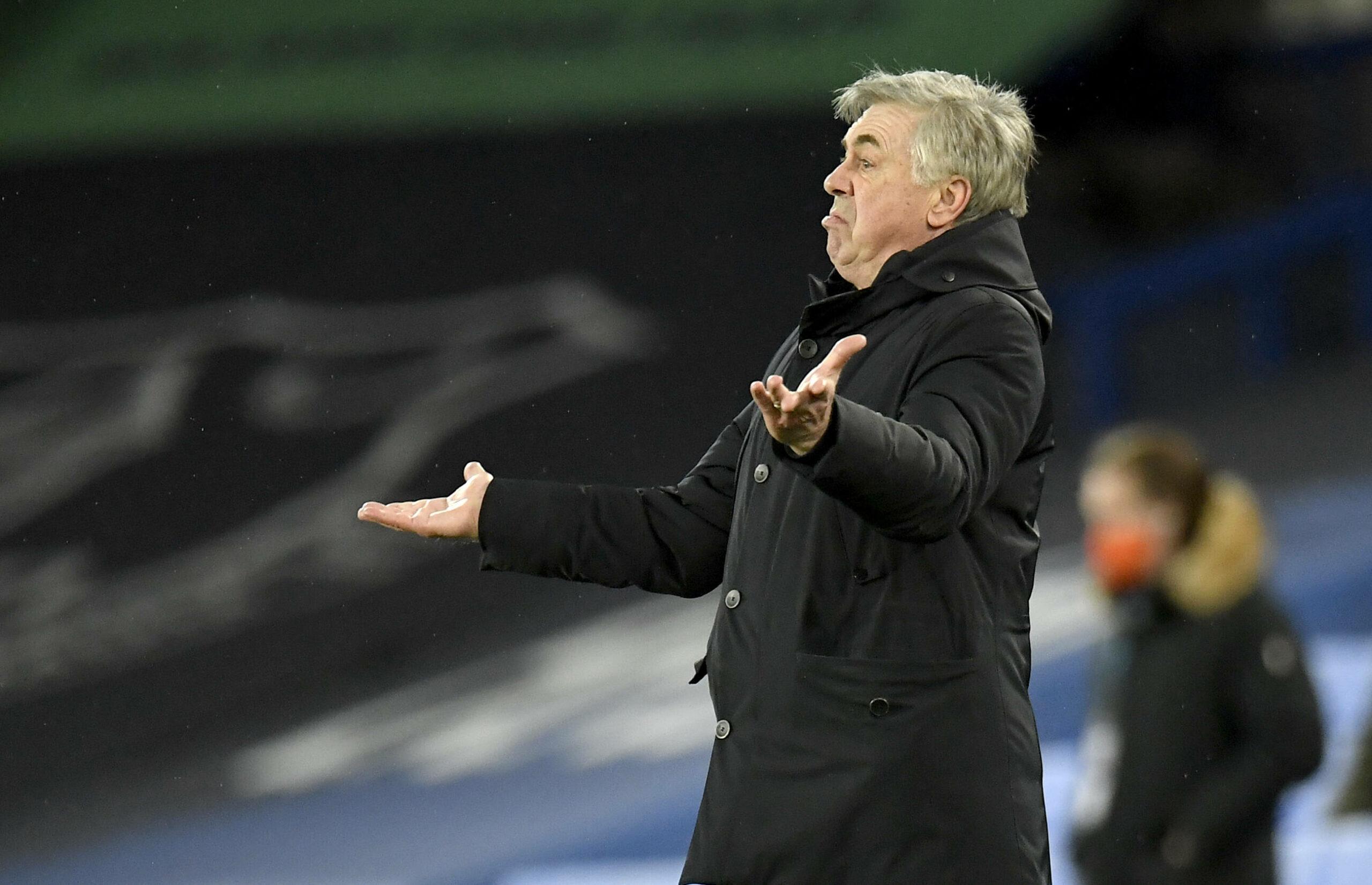 Ancelotti's worst nightmare: How one loss derailed Everton's stellar season