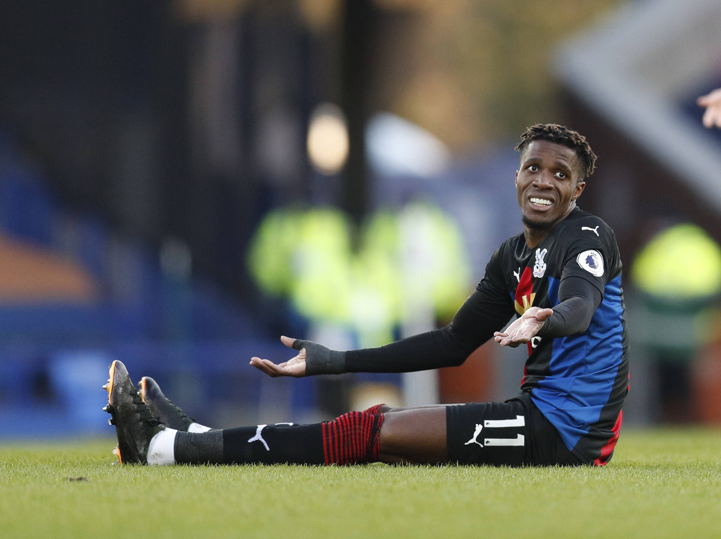 Wilfred Zaha: rumours circle regarding Ivorian's future in South London